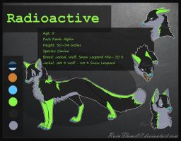 Radioactive Ref Sheet- Commish by x-RainFlame-x