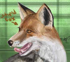 StupidFox speed paint by raptor007