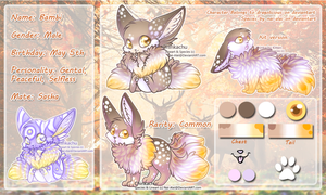 Bambi Ref Sheet by gold-adopts