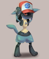 Lucario by Joltik92