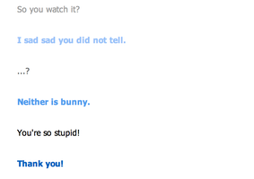 Not So Epic Cleverbot Response. by Arrancaropenaccount