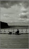 Pier Fishing by Criee