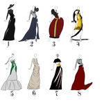 Haute Couture outfits by Divorce-Me
