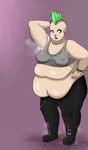 CM: Fat Slob Punk Girl by Metalforever
