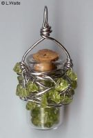 Peridot Bottle by LWaite
