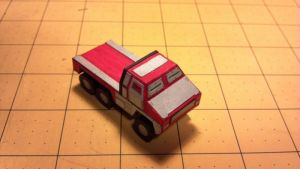 Warhammer 40K - Armored Truck by Dented-Rick