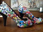 Avengers Shoes by Pyronic-Tiger