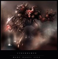 cyberdemon by marcnail