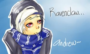 Andrew is at Ravenclaw house! by TheRameinster