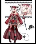 Demon kemonomimi adoptable Closed by AS-Adoptables