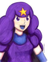 Lumpy Space Princess Personification by melofarce