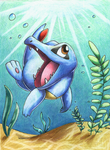 Totodile by Togechu