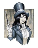 The Magic of Zatanna by BigChrisGallery