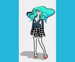 Aqua Hair by Fratly