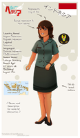 APH | Indonesia OC reference sheet by MariaJHB