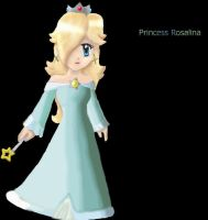 Princess Rosalina: coloured by Hero-of-Awesome