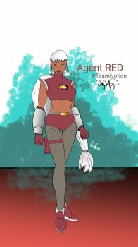 Agent Red by Djtrunks2