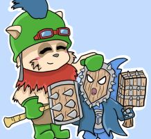 bmm and teemo by prochyprochy