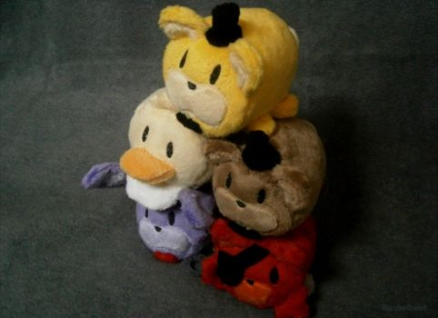 Five Nights at Freddy's Tsum Tsums - Part 1 by HipsterOwlet