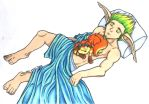 Jak and Dax sleeping 83 by filthy-animal