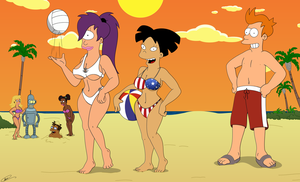 Futurama - Enjoy Summer by Spider-Matt