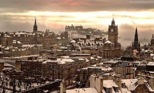 Edinburgh Winter by gdphotography