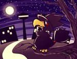 Murkrow by Frog-of-Rock