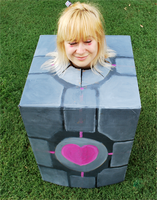 AFO 2010: Companion Cube by Cherrys-Are-Wild