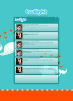 Twilight Twitter client by deino-erd
