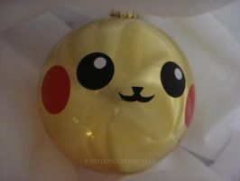 Pikachu Ornament by Clinkorz