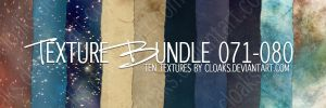 Texture Bundle 71-80 by cloaks