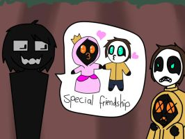 special friendship :D by corkie11