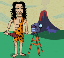 So Easy A Caveman Could Do It by AnimatEd
