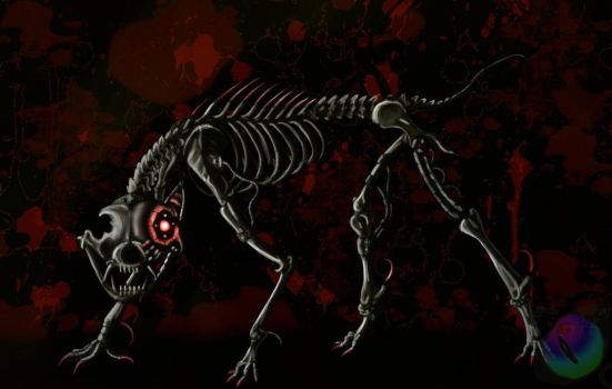 Skeletal by maelthra-chath