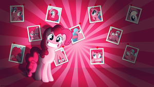 Silly Pinkie Pie - 4k Wallpaper by P3r0