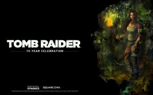 15-year celebration of Tomb Raider by LeksaArt
