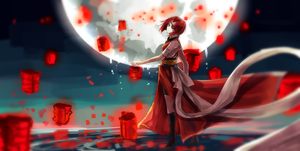 Red Lanterns by FireFly-Rain