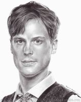 Matthew Gray Gubler by yib91