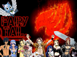 Fairy Tail wallpaper by UltearMilkovich