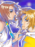 Tidus and Yuna by Zeras-art