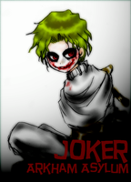 Arkham Asylum in JOKER by pink-snow