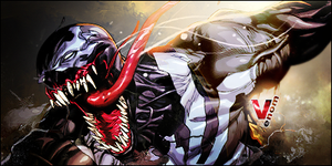 Venom SOTW 3 Entry (Comic) by fireproofgfx