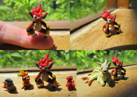 Infernape Fingertip size by xXShiningstar