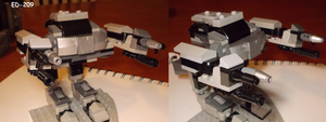 LEGO CUSTOM:Ed-209 by TMNTFAN85
