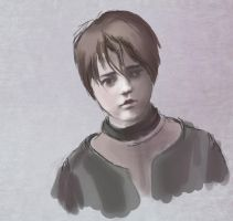 Arya Stark WIP by teal-clouds