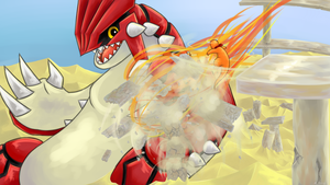 PMD - Groudon by LilArrin