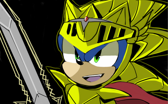 Excalibur Sonic (2016-12-22) by Onyx-silver