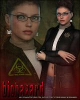 Biohazard for Lab Coat by cosmosue