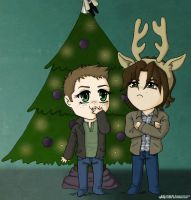 Happy Supernatural Holidays by Sillie