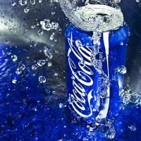 Coca Cola in the Blue by SaphoPhotographics